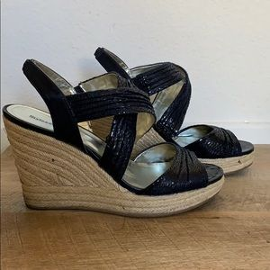 Style & Co Rozz Navy Wedge